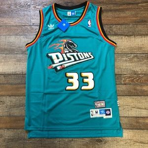 NWT Grant Hill Detroit Pistons Official NBA Jersey